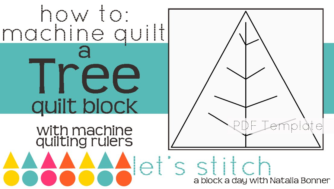 Let's Stitch - A Block a Day With Natalia Bonner - PDF - Tree
