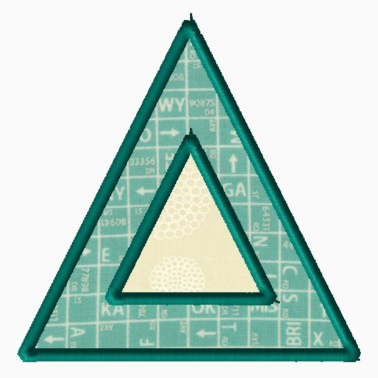Triangle Applique