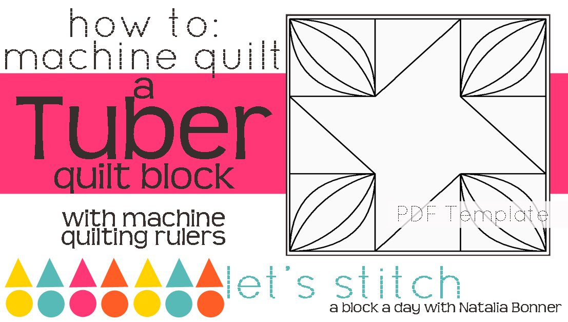 Let's Stitch - A Block a Day With Natalia Bonner - PDF - Tuber