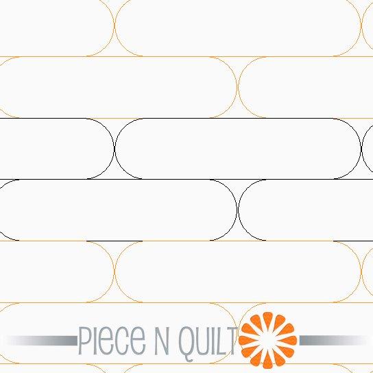 Tubes Pantograph Pattern - Paper