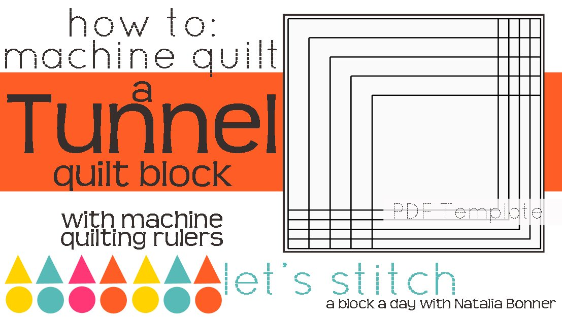Let's Stitch - A Block a Day With Natalia Bonner - PDF - Tunnel