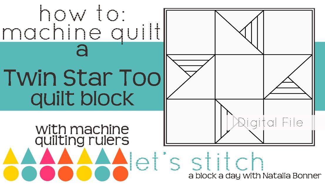 Twin Star Too 6 Block - Digital