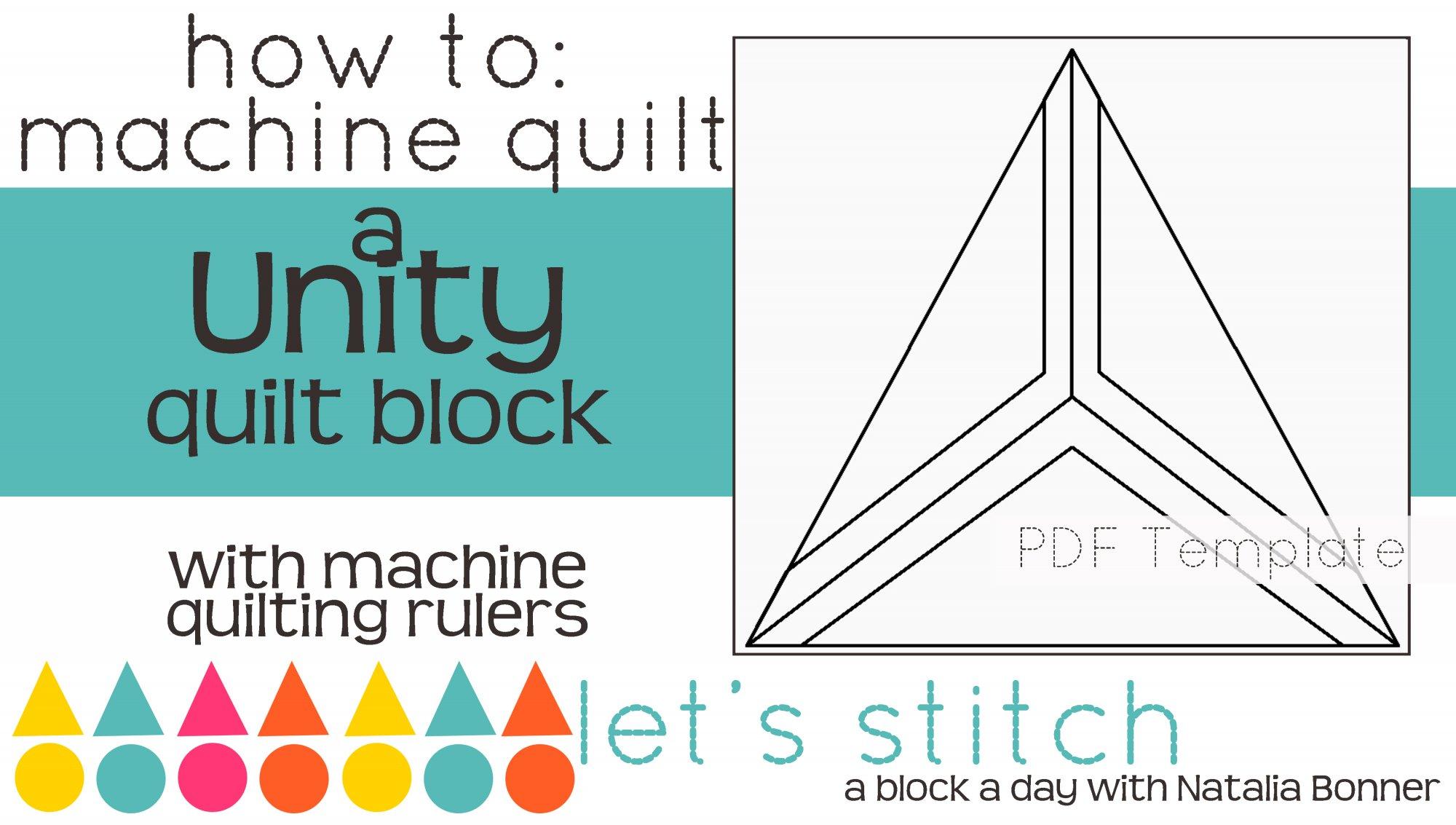 Let's Stitch - A Block a Day With Natalia Bonner - PDF - Unity