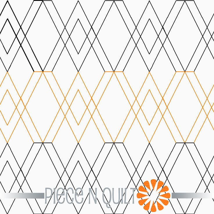 Urban Argyle Pantograph Pattern - Digital