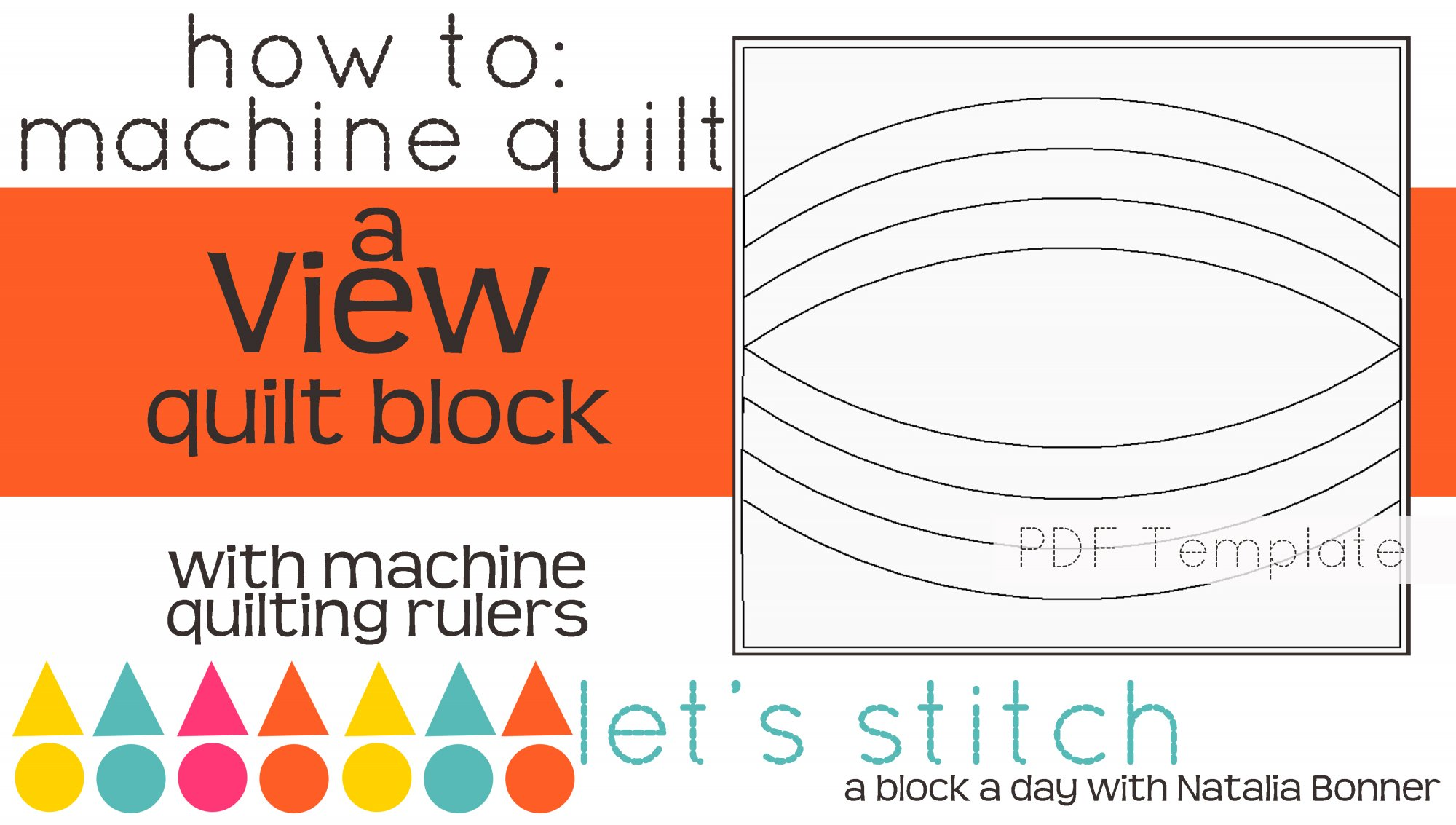 Let's Stitch - A Block a Day With Natalia Bonner - PDF - View