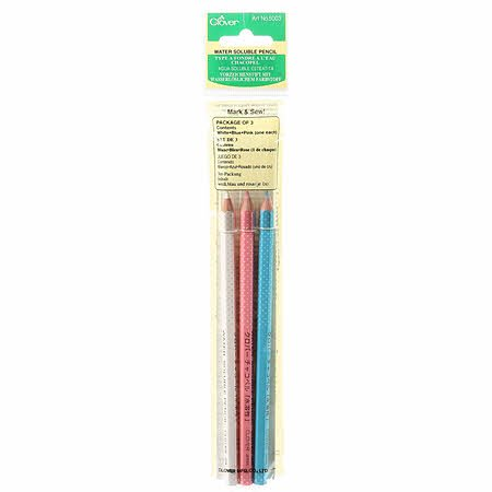 Water Soluble Pencil 3 Color Assortment