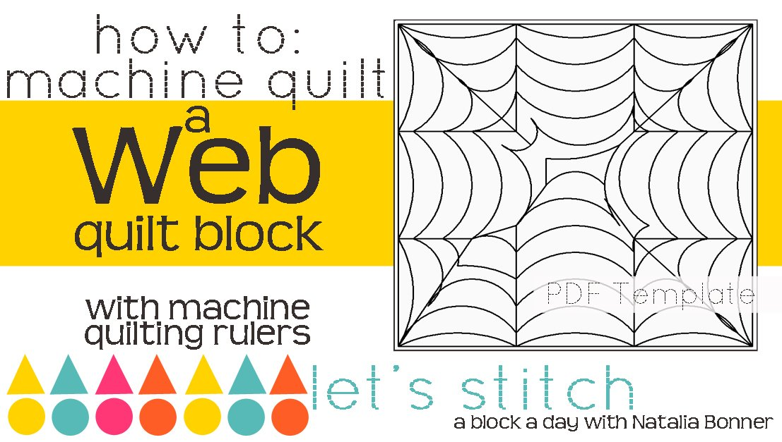 Let's Stitch - A Block a Day With Natalia Bonner - PDF - Web