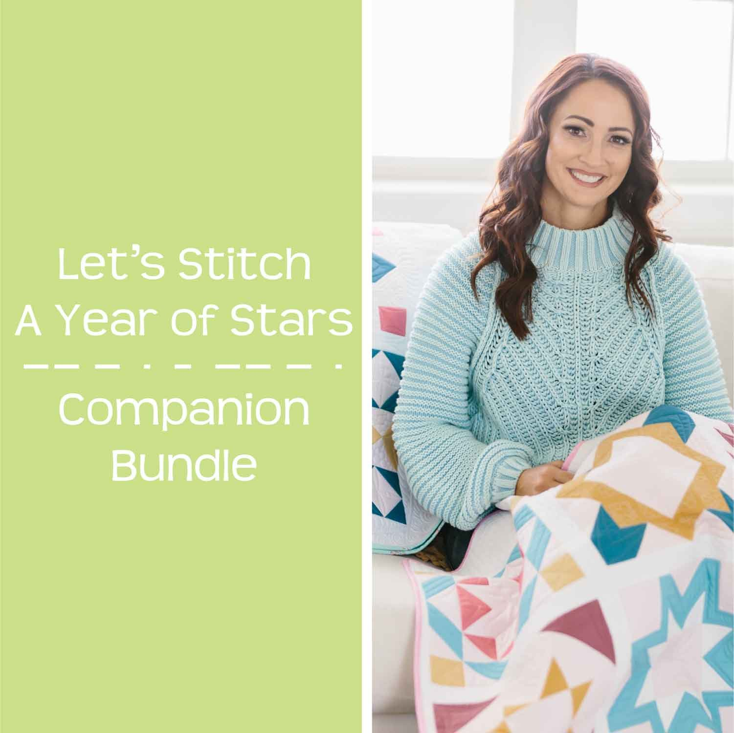 Let's Stitch - A Year of Stars - STITCHALONG ONLY!