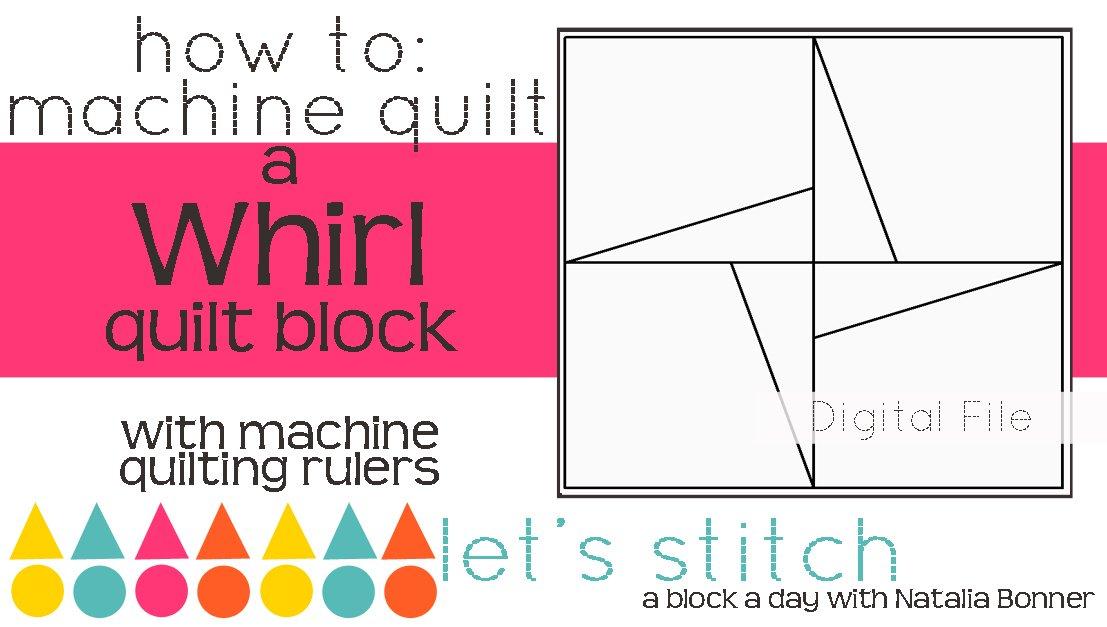 Whirl 6 Block - Digital