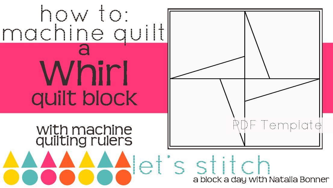 Let's Stitch - A Block a Day With Natalia Bonner - PDF - Whirl