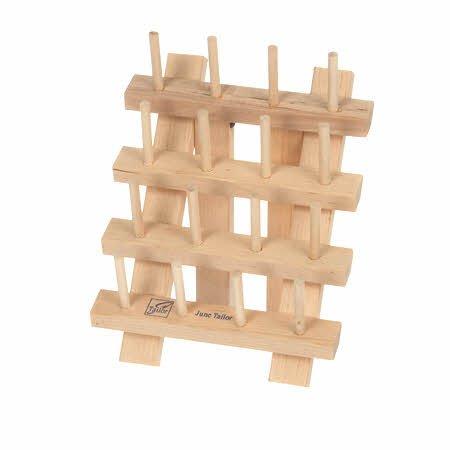 Wooden Bobbin Rack