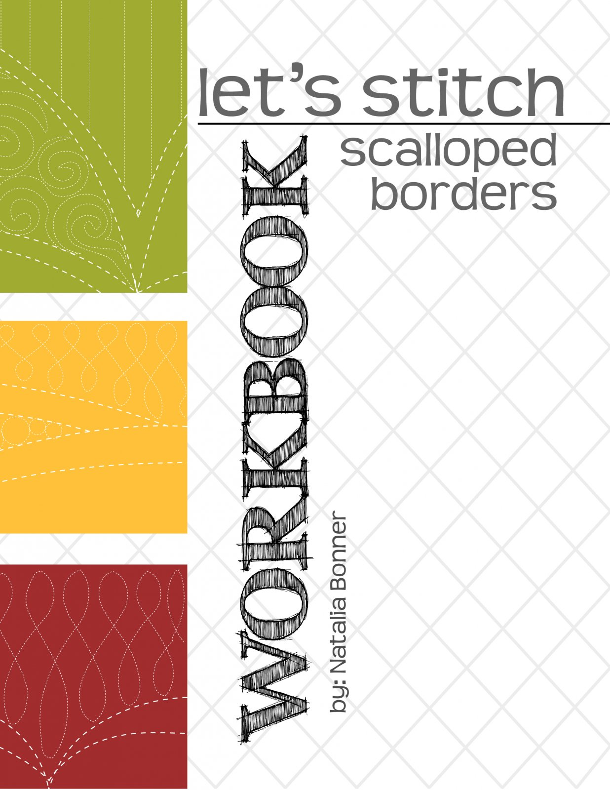 Let's Stitch - Scalloped Borders - Workbook