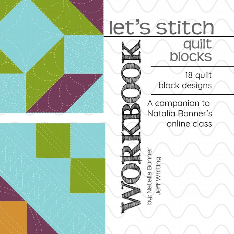 Let's Stitch - Quilt Blocks - WORKBOOK
