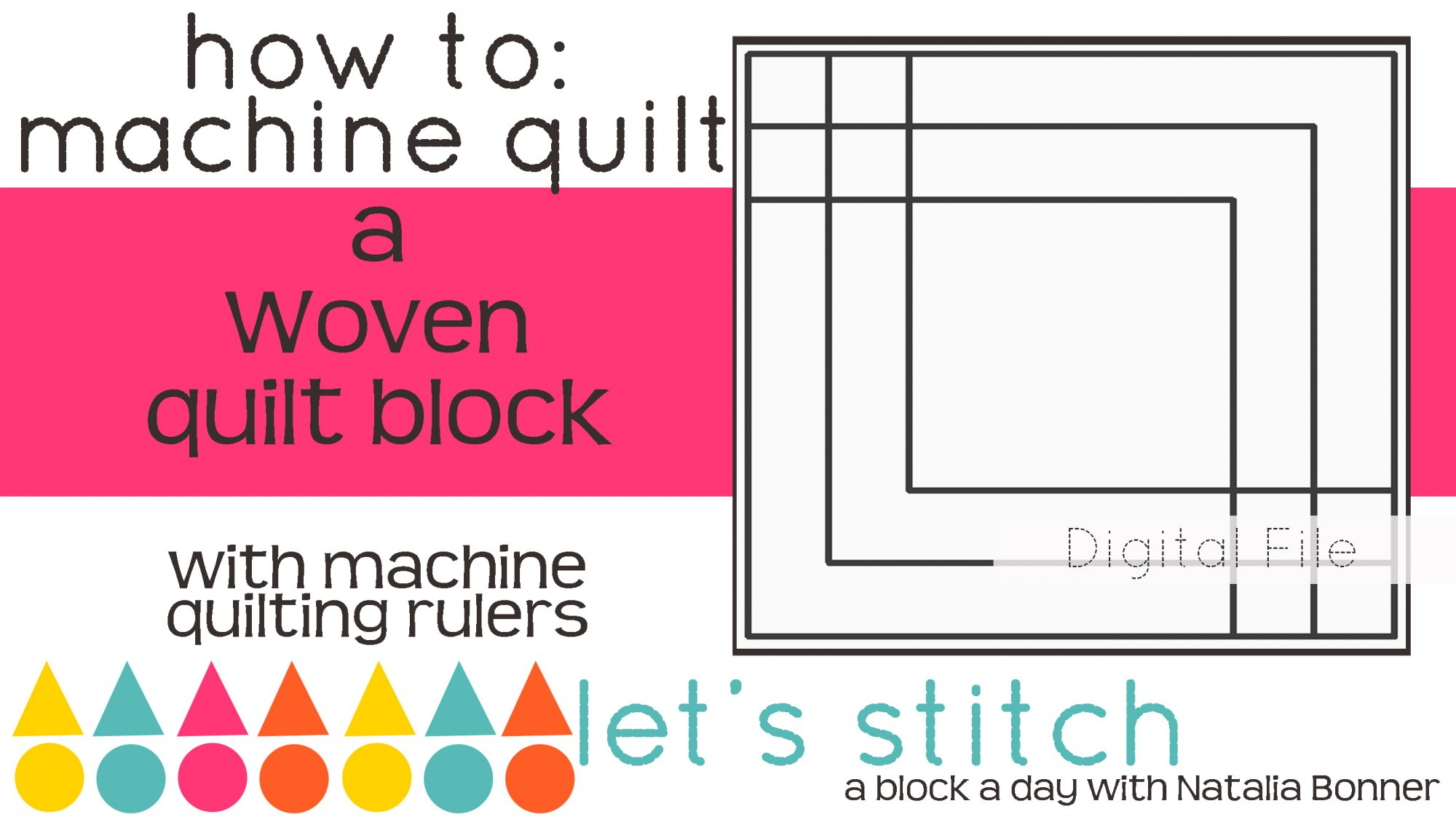 Woven 6 Block - Digital