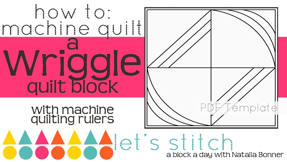 Let's Stitch - A Block a Day With Natalia Bonner - PDF - Wriggle