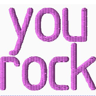 You Rock Embroidery
