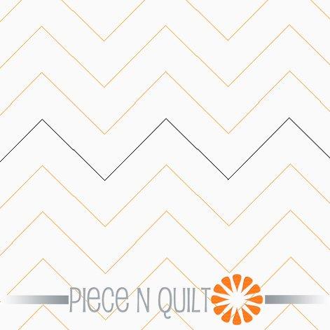 Zigs Pantograph Pattern - Paper