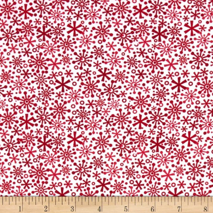 Holiday Knits - Flakes Red