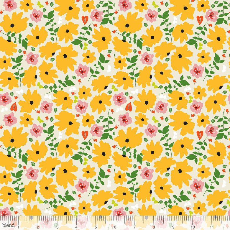 Enchanted - Yellow Floral