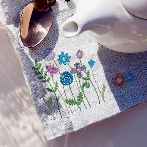 Scissortail Stitches - Tiny Garden