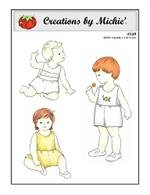 Creations by Michie - #149 Classic Sunsuit