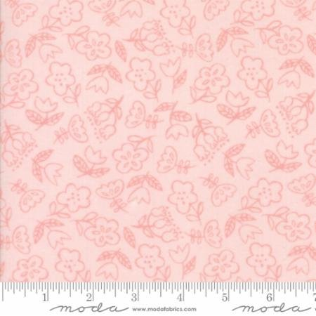 Soft Sweet Flannel - Flowers Pink
