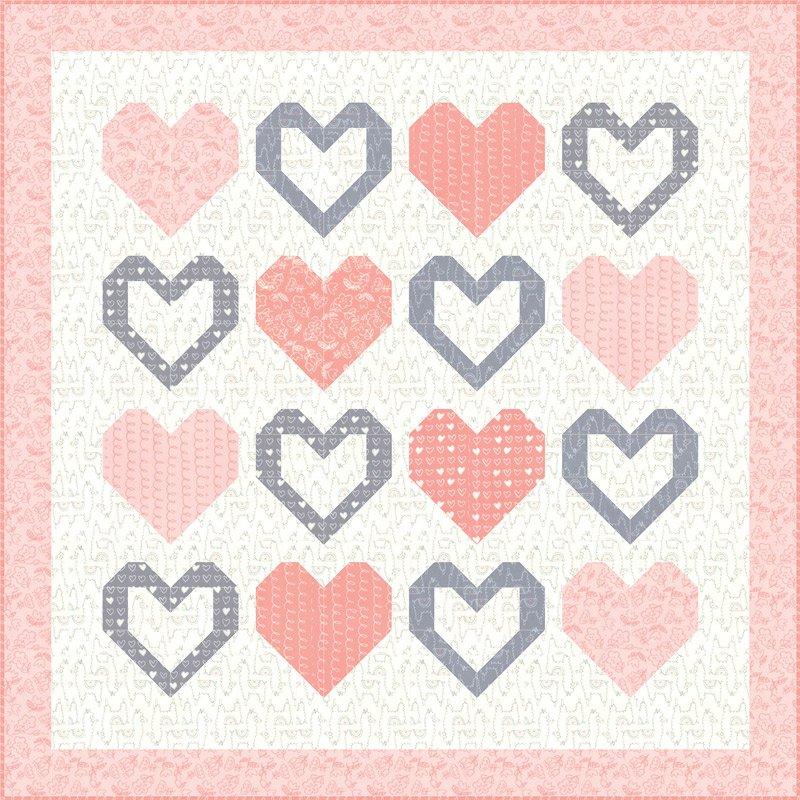 Soft Sweet Flannel - Kit (girl)