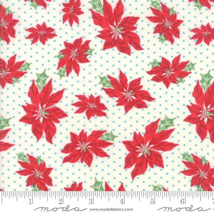 Sweet Christmas - Poinsettias Marzipan