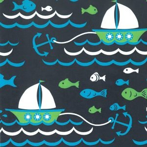 FF Print - Sailboat Fabric