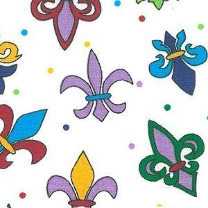 FF Print - Fleur de lis - Multicolored