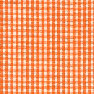 FF Gingham - Orange 1/16