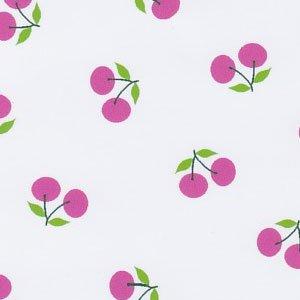 FF Print - Pink Cherries Pique
