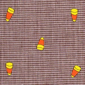 FF Print - 2154 Gingham Candy Corn