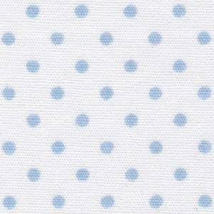 FF Print - Blue Dots on White