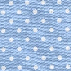 FF Print - White Dots on Blue