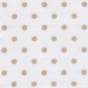 FF Print - Tan Dots on White
