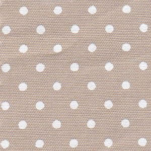 FF Print - White Dots on Tan