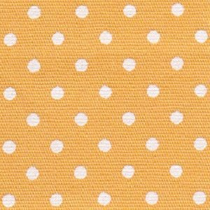 FF Print - White Dots on Gold