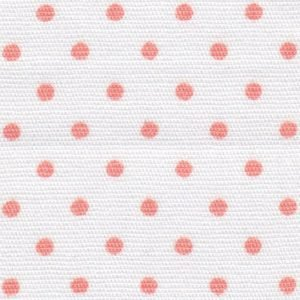 FF Print - Coral Dots on White