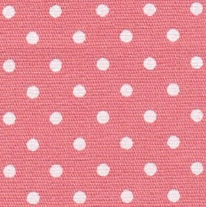 FF Print - White Dots on Coral