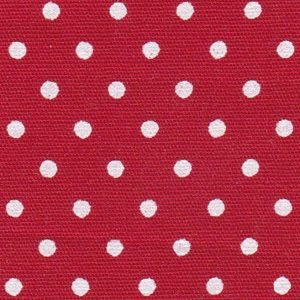 FF Print - 2176 White Dots on Red