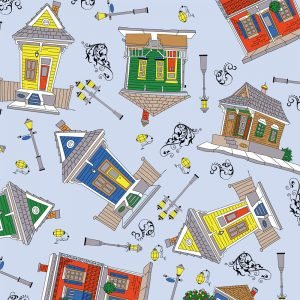 FF Print - Creole Houses