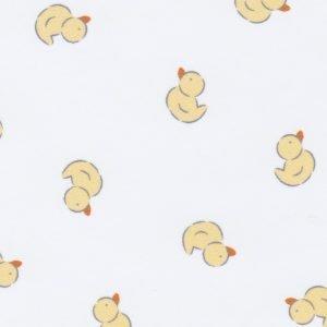 FF Print -  White Ducks Ultra Fine Flannel