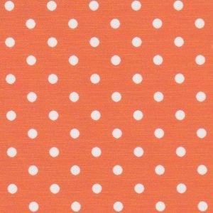 FF Print - White Dots on Orange