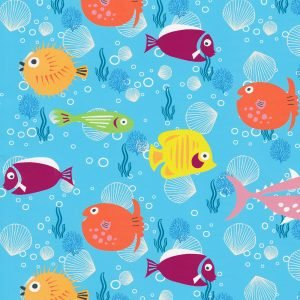 FF Print - Brightly Colored Fish