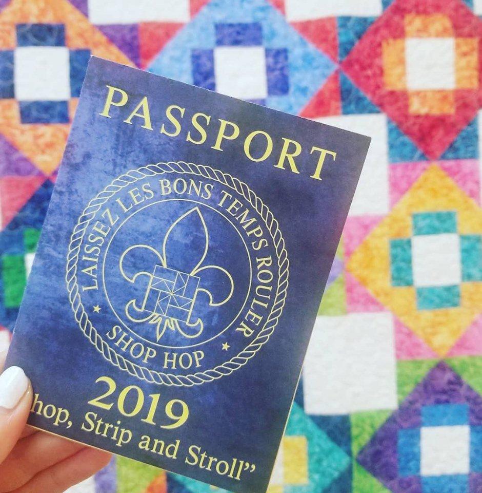 Shop Hop  - Passport