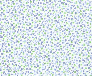 FF Print - Blue Floral