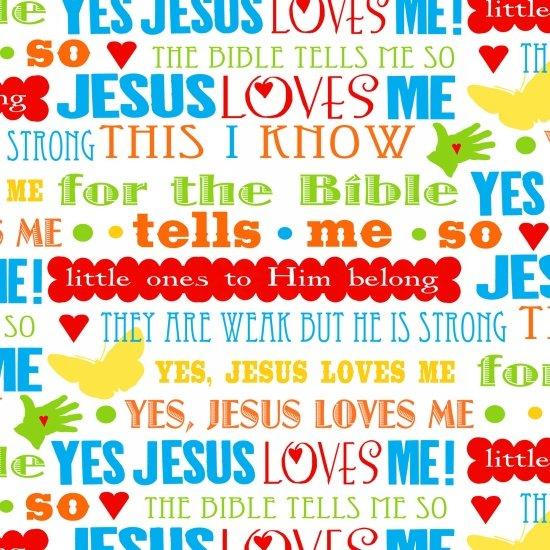 Jesus Loves Me - 6819
