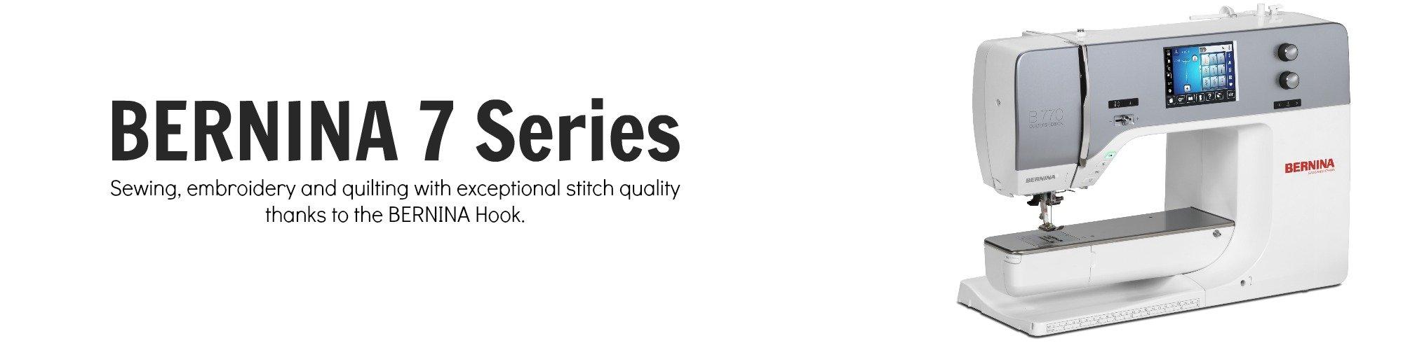 BERNINA 7 Series | Lola Pink Fabrics