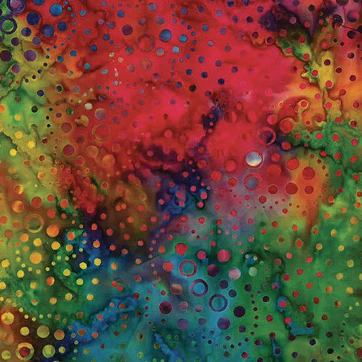 Bali Batiks - Dotty Bright Multi